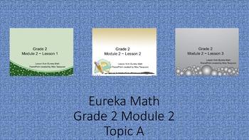 Eureka Math - 2nd Grade Module 2, Topic A PowerPoints