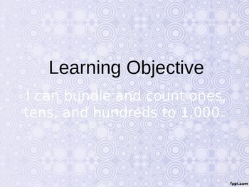 Eureka Math - 2nd Grade Module 3, Lesson 1 PowerPoint