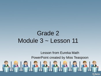 Eureka Math - 2nd Grade Module 3, Lesson 11 PowerPoint
