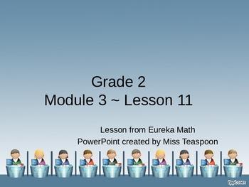 Eureka Math - 2nd Grade Module 3, Lesson 11 PowerPoint