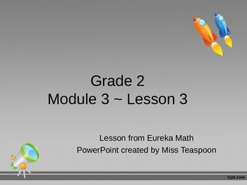 Eureka Math - 2nd Grade Module 3, Lesson 3 PowerPoint