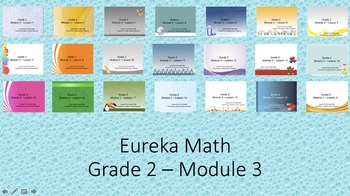 Eureka Math - 2nd Grade Module 3 PowerPoints (Full Module)