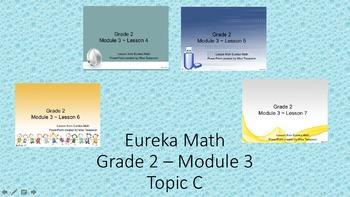 Eureka Math - 2nd Grade Module 3, Topic C PowerPoints