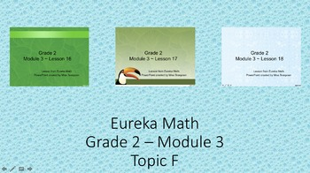 Eureka Math - 2nd Grade Module 3, Topic F PowerPoints
