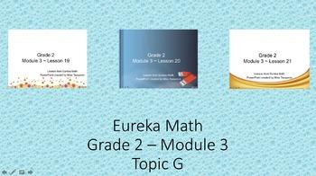 Eureka Math - 2nd Grade Module 3, Topic G PowerPoints