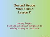 Eureka Math 2nd Grade Module 4 Lesson 2 ActivInspire Chart