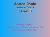 Eureka Math 2nd Grade Module 4 Lesson 3 ActivInspire Chart
