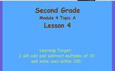Eureka Math 2nd Grade Module 4 Lesson 4 ActivInspire Chart