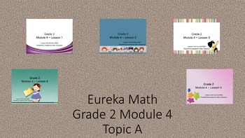 Eureka Math - 2nd Grade Module 4, Topic A PowerPoints