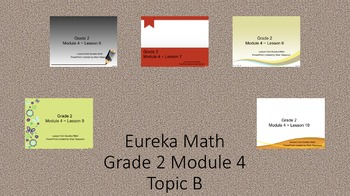 Eureka Math - 2nd Grade Module 4, Topic B PowerPoints