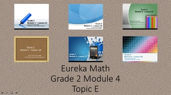 Eureka Math - 2nd Grade Module 4, Topic E PowerPoints