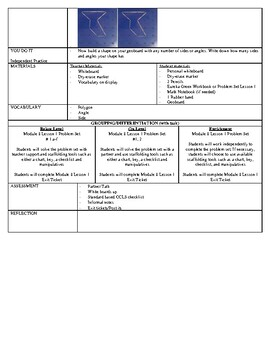 Eureka Math 2nd Grade Module 8 Lesson Plans (1-16) and DIFFERENTIATED GROUPING