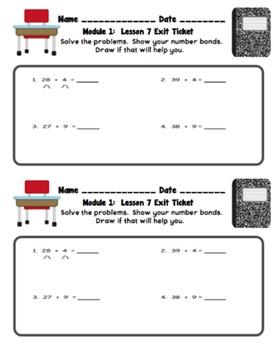 Eureka Math 2nd Grade Student Sheets - Module 1