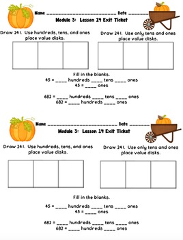 Eureka Math 2nd Grade Student Sheets - Module 3