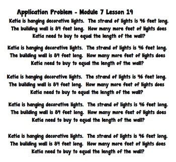 Eureka Math 2nd Grade Student Sheets - Module 7