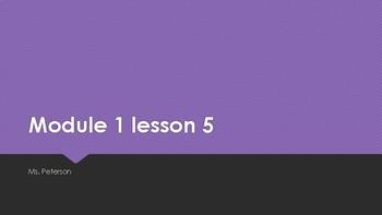 Eureka Math 2nd grade Mod 1 Powerpoints