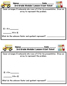 Eureka Math 3rd Grade Student Sheets - Module 1