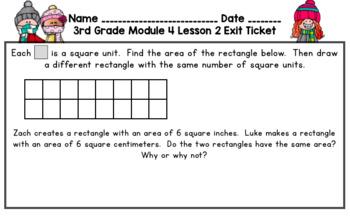 Eureka Math 3rd Grade Student Sheets - Module 4