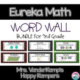 Eureka Math EngageNY 3rd Grade Word Wall BUNDLE