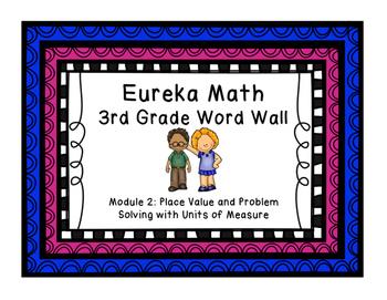 Eureka Math EngageNY 3rd Grade Word Wall: Module 2 & 3