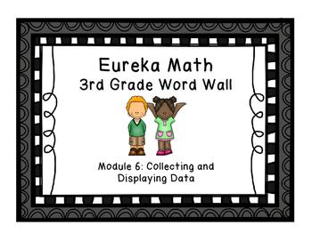 Eureka Math EngageNY 3rd Grade Word Wall: Module 6 & 7