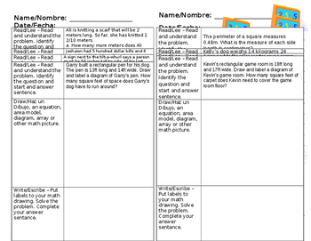 Eureka Math 4th Grade Application Problems
