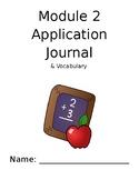 Eureka Math 4th Grade Module 2 Application and Vocabulary Journal