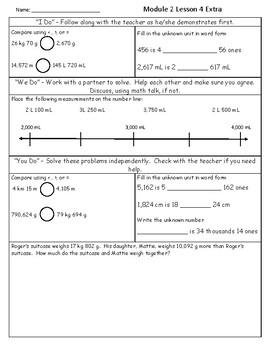Eureka Math 4th Grade Module 2 Extra Practicee
