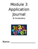Eureka Math 4th Grade Module 3 Application and Vocabulary Journal