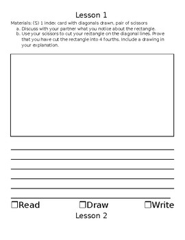 Eureka Math 4th Grade Module 5 Application and Vocabulary Journal