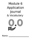 Eureka Math 4th Grade Module 6 Application and Vocabulary Journal