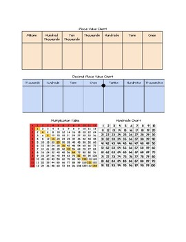 Eureka Math 4th Grade Support Folder