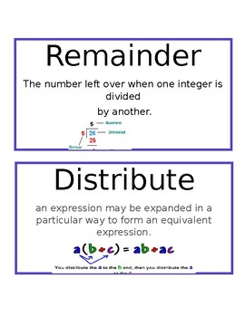 Eureka Math 4th grade Module 3 Vocabulary