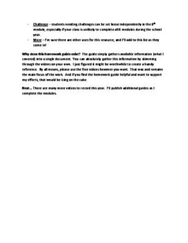 Eureka Math 5th Grade Module 2 - Homework Guide for Free Videos