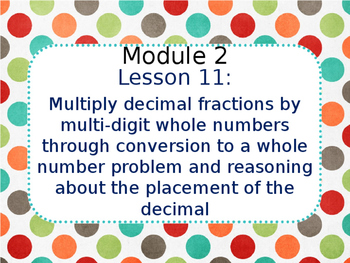 Eureka Math 5th Grade Module 2 Lesson 11