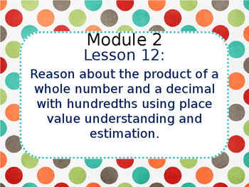 Eureka Math 5th Grade Module 2 Lesson 12
