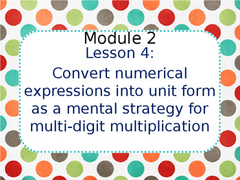 Eureka Math 5th Grade Module 2 Lesson 4