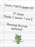 Eureka Math 5th Grade: Rounding Decimals with Vertical Num