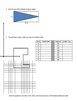 Eureka Math 6th Grade Mid-Module 5 Test