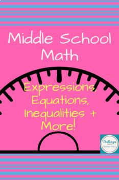 Eureka Math 7th Unit 3 | Expressions, Equations, Inequalities, Measurements