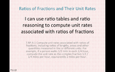 Eureka Math 7th grade Module 1 Lesson 12 Ratios of Fractions & Their Unit Rates