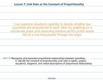 Eureka Math 7th grade Module 1 Lesson 7