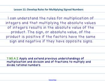 Eureka Math 7th grade Module 2 Lesson 11