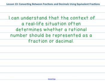 Eureka Math 7th grade Module 2 Lesson 13
