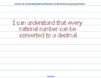 Eureka Math 7th grade Module 2 Lesson 14