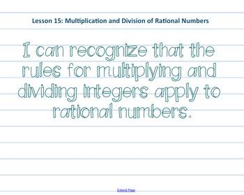 Eureka Math 7th grade Module 2 Lesson 15