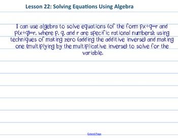 Eureka Math 7th grade Module 2 Lesson 22