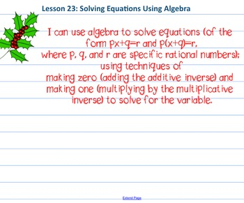 Eureka Math 7th grade Module 2 Lesson 23