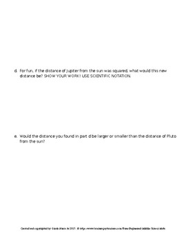 Eureka Math 8th Grade End-of-Module 1 Test