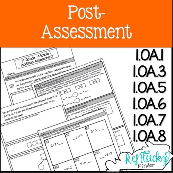 Eureka Math Grade 1, Module 1 Addition Assessment